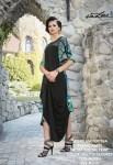 sinzara glam satin fancy ready to wear kurtis catalog at reasonable rate