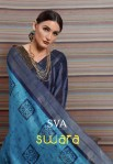 sVA swara colorful fancy collection of sarees