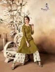titli signature colorful fancy ready to wear kurtis catalog 1
