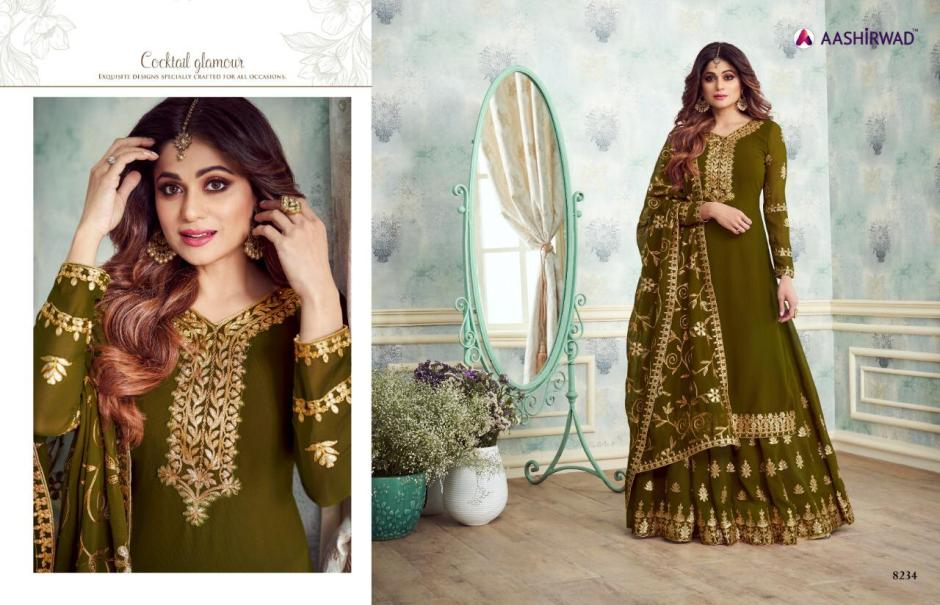 aashirwad creation gota pati volorful fancy collection of outfits