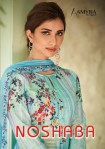 Amyra designer noshaba cambric digital printed salwar kameez collection