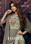 Arihant Designer floret vol 6 long beautiful gown wear collection at wholesale rate