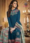 arihant designer rangrez gold fancy beautiful collection of salwaar suits