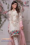 Charizma designer areeba heavy embroidered pakistani salwar kameez collection