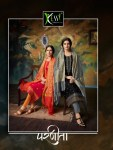 Kessi fabrics parneeta cotton foil printed salwar kameez collection