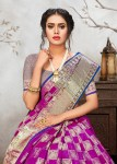 Krishnahari fashion samira party wear silk sarees collection