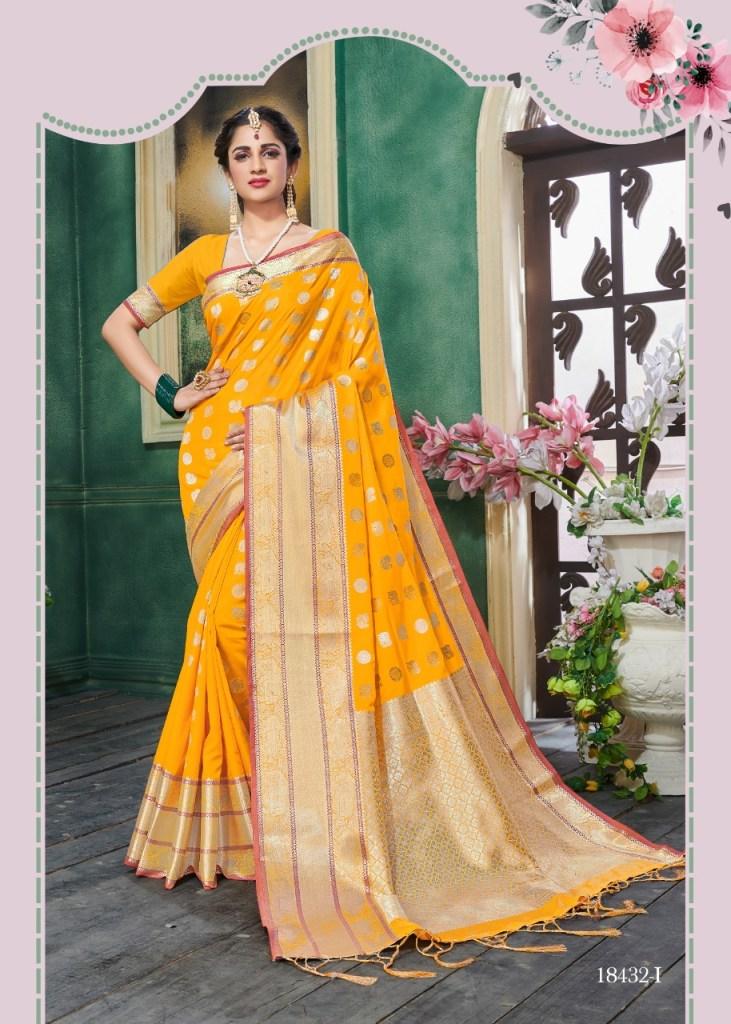 krishnahari kanchana colorful designer collection of sarees