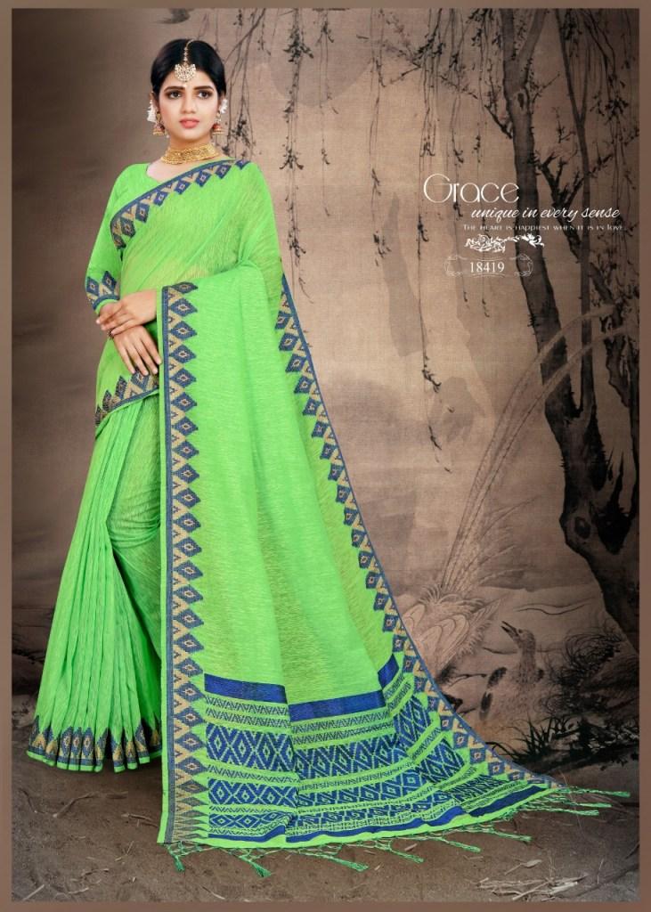 krishnahari manju colorful fancy collection of sarees at reasonable rate