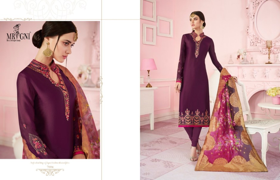 mrigni series vol 7 colorful collection of salwaar suits