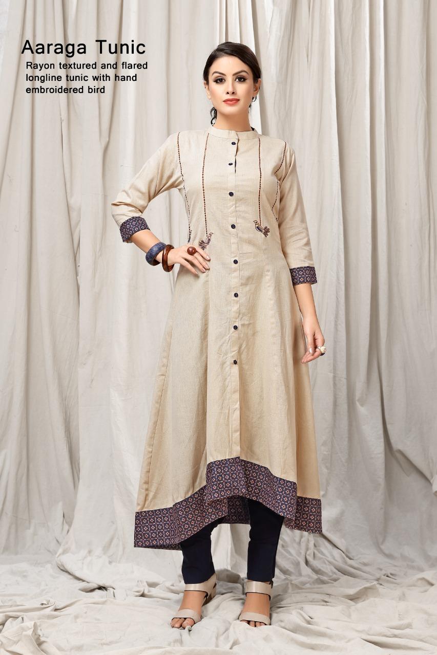 Mrigya clothing aaraga fancy tunic kurties