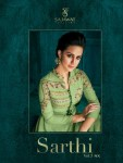 Sajawat creation sarthi vol 5 nx readymade collection