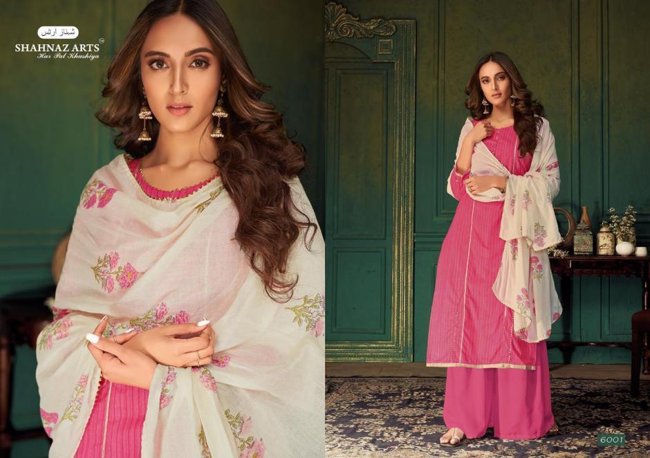 Shahnaz arts miraki cotton printed salwar kameez collection dealer
