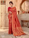 Shakunt presents alakhnanda beautiful printed sarees collection