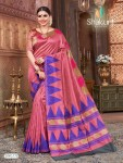 Shakunt weaves saubhagya silk based fancy saree Wholesaler