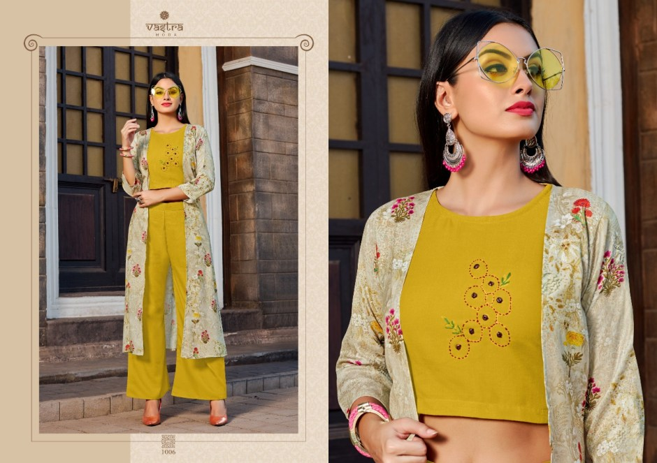 vastra moda urbane vol 1 fancy colorful collection of kurtis at reasonable rate