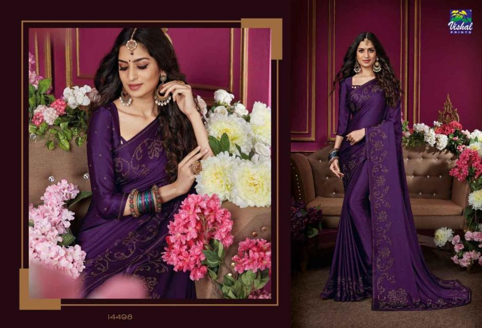 vishal sarees damore colorful fancy collection of sarees at reasonable rate