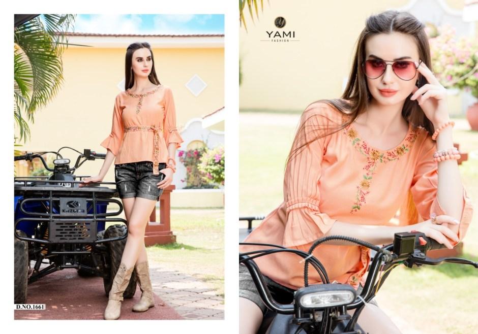 Yami fashion topsy vol 3 summer wear short tops collection