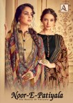 Alok suit noor e patiyala 3 digital printed salwar kameez collection