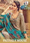 Alok suits patiyala house cotton printed salwar kameez collection
