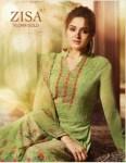 Meera trendz zisa flora gold salwar with sharara collection