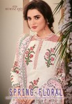 Mumtaz arts spring floral karachi lawn printed salwar kameez collection