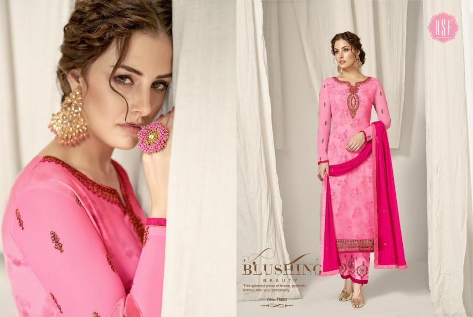 Rsf rolex vol 6 georgette embroidered salwar kameez collection dealer