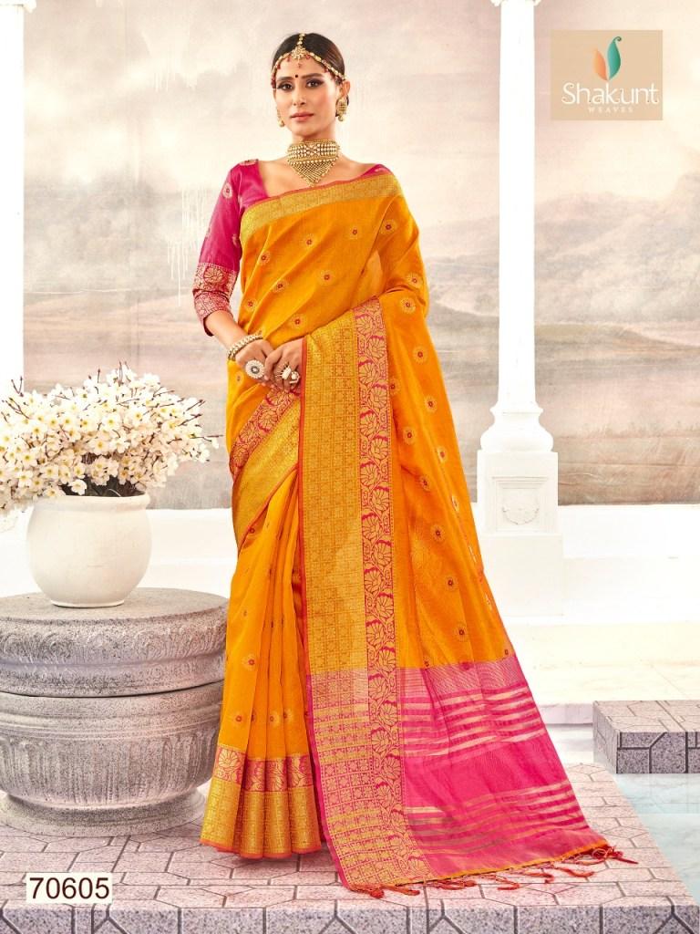 Shakunt weaves meenakshi Traditional sarees collection dealer