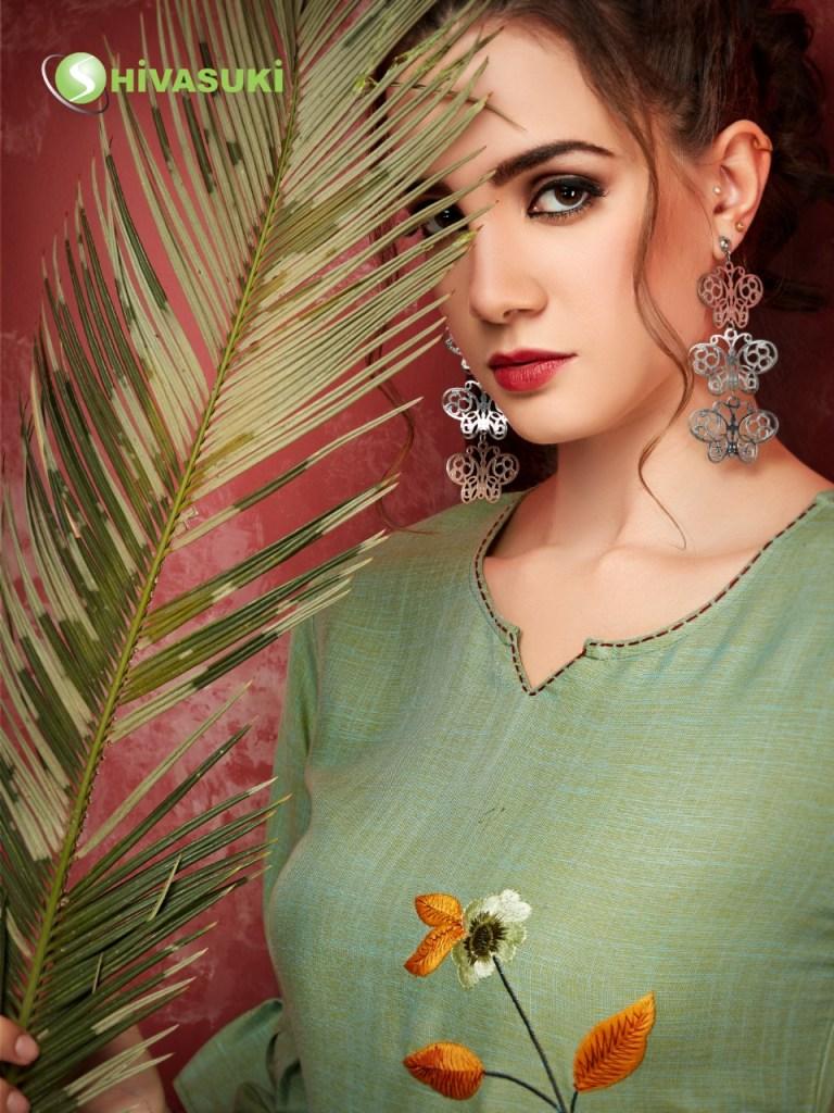 Shivasuki looks sui dhaga vol 3 rayon long gown collection