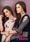Smriti trendz allure designer printed rayon kurti outfit