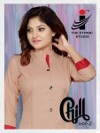 The ethnic studio chill vol 2 rayon ready to wear kurties exporter