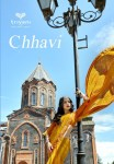 Triveni chhavi beautiful designer indian sarees collection at wholesale rate online dealer