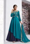 Vardan designer navya vol 6 colourful anarkali long gown collection wholesaler