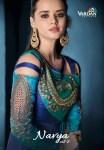 Vardan designer navya vol 8 fancy long silk gown collection