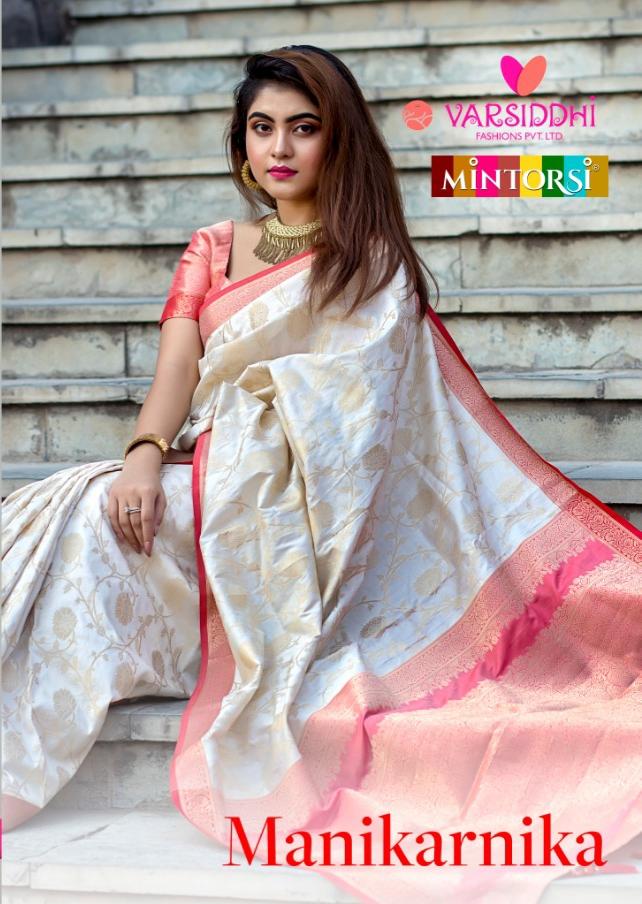Varsiddhi mintorsi manikarnika banarasi silk sarees collection dealer
