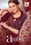 Alok suits amber vol 3 rayon printed fancy salwar kameez collection