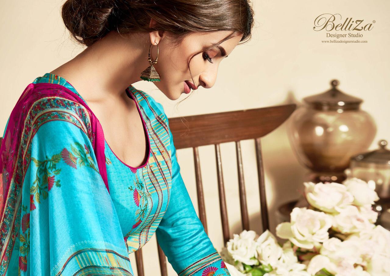 Belliza designer studio Zohra digital printed salwar kameez collection