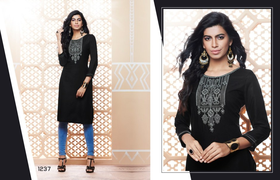 Kajree fashion lily vol 14 daily wear casual summer kurties  collection