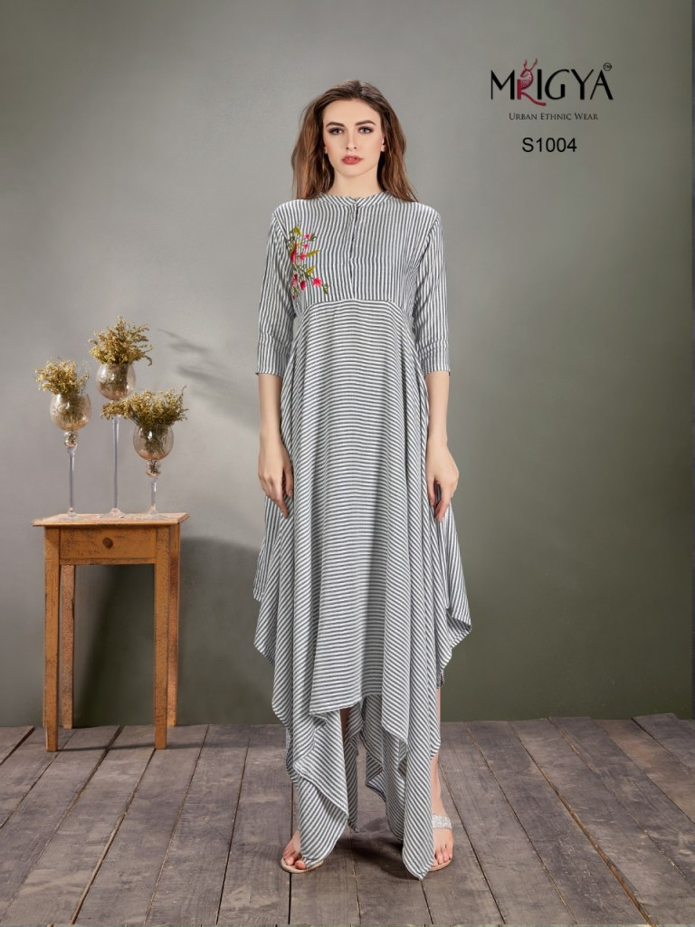 Mrigya clothings Singles S1001-s1006 long gown collection