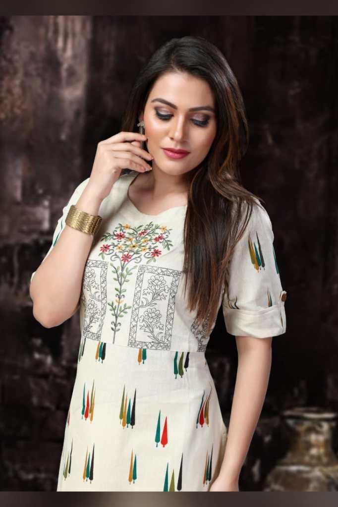 Rani aastha designer kurti with pants at wholesale rate