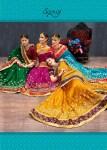 Saroj rangvarsha heavy work silk sarees collection