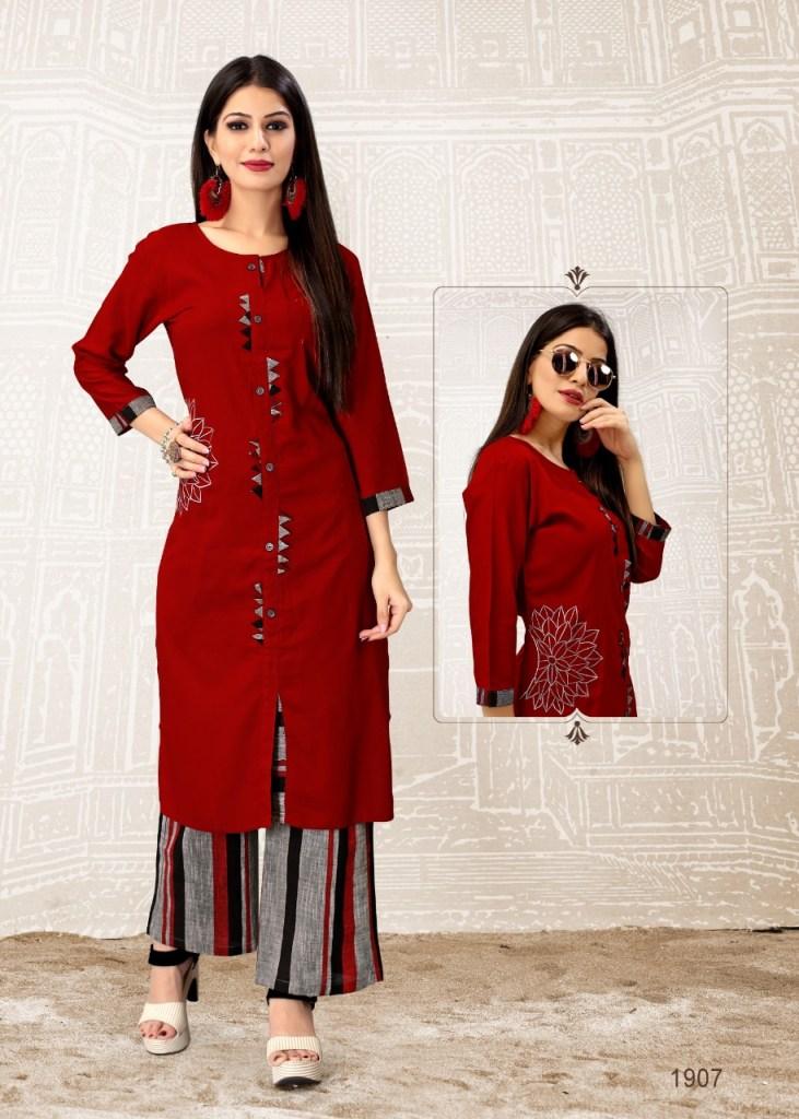 Shalin maniyar fashion sweety handloom cotton kurties collection