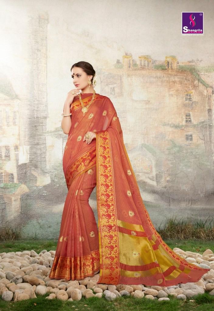 Shangrila vanshika cotton fancy Exclusive sarees collection