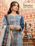 Shree fabs qalamkar lawn collection embroidered cotton salwar kameez collection
