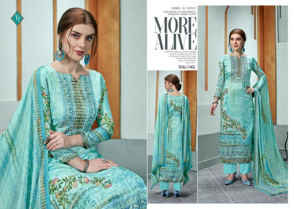 Tanishk fashion Evelyn aari work salwar suits collection
