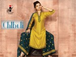 The ethnic studio chlbhuli heavy rayon top with embroidered plazzo collection