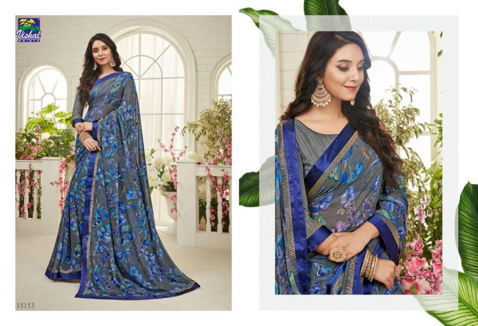 Vishal prints signature designer printed sarees collection dealer