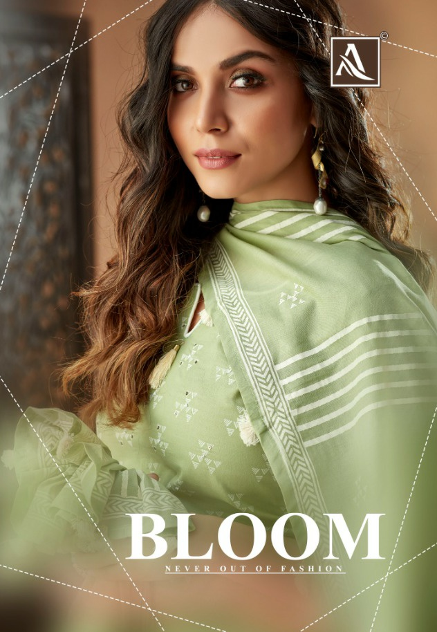 Alok suit bloom elegant and exquisite collection of Salwar suit