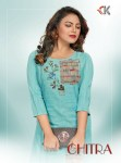 Diva design chitra Handpainting work kurti