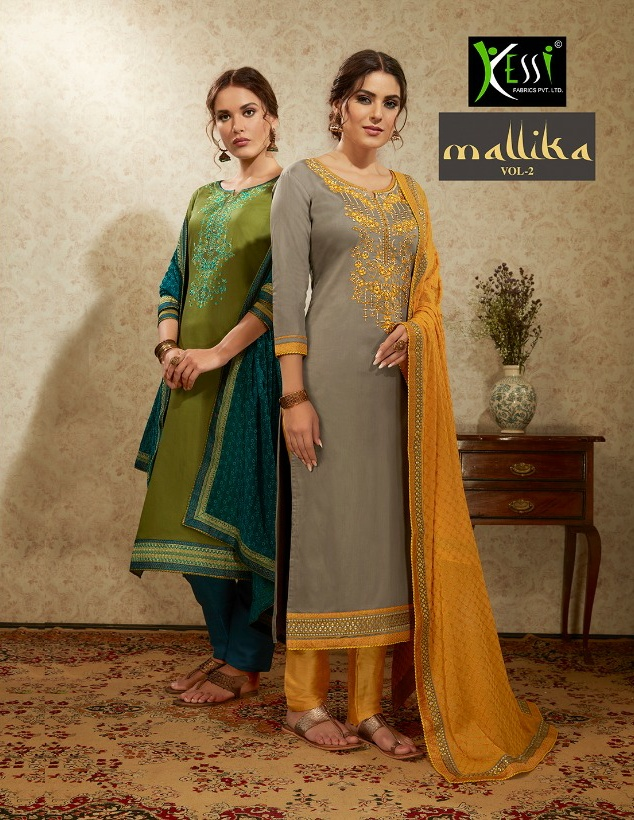 Kessi Fashion Mallika vol 2 exclusive collection of Salwar suit
