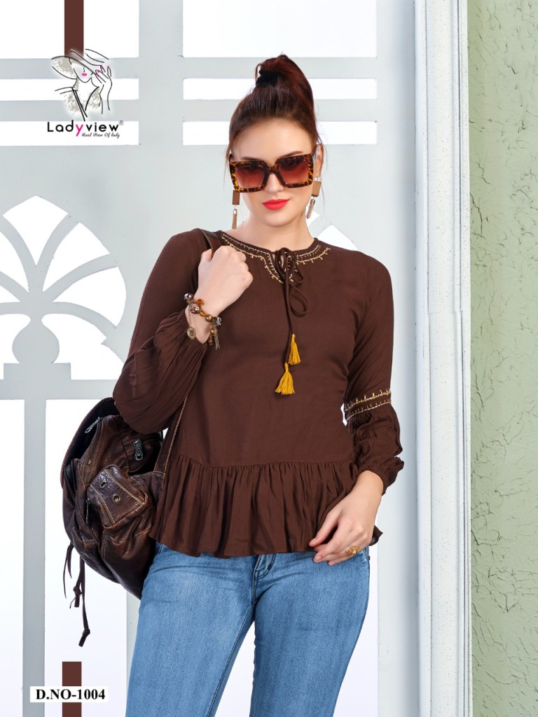 Ladyview farmaish vol 2 silky short tops collection